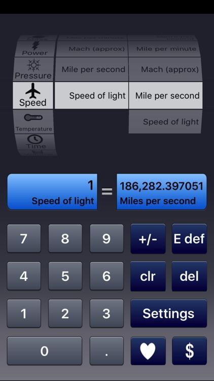 Ad-Free Unit Converter screenshot-3
