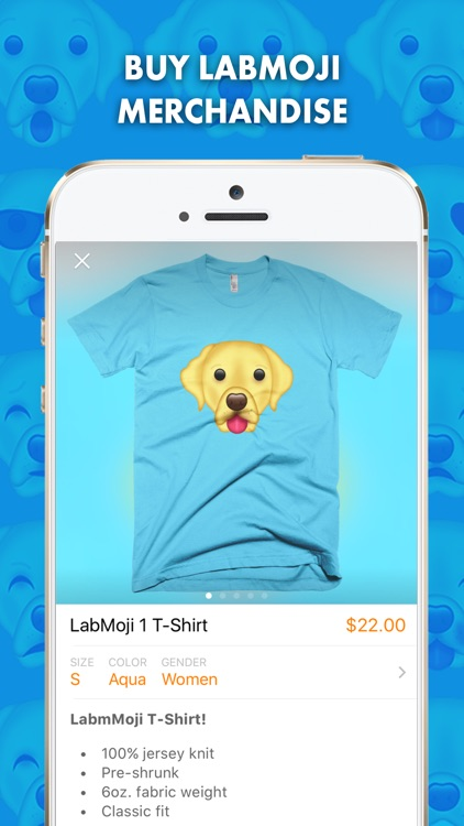 LabMoji - Labrador Retriever Emoji & Stickers!
