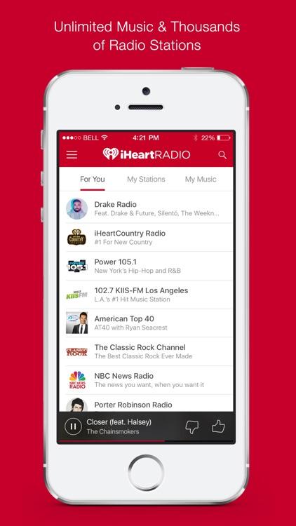 iHeartRadio – Free Music & Radio Stations app image