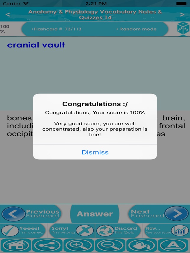 Anatomy Physiology Vocabulary Exam Review App On The App Store