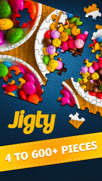 Jigty Jigsaw Puzzles screenshot-1