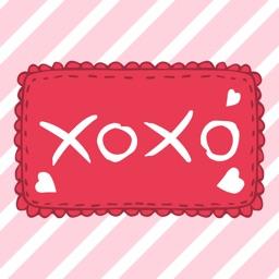 xoxo - Valentine Stickers