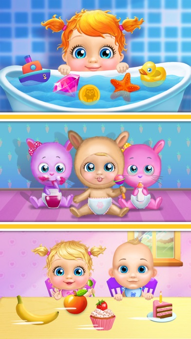 Crazy Twins Baby House - No Ads screenshot 2