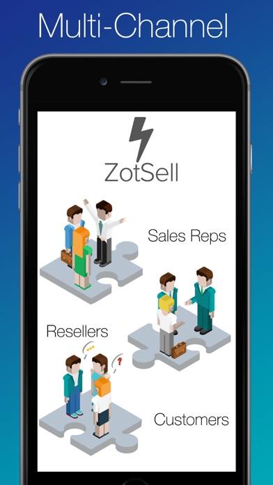 Zotsell 食品銷售軟件  訂單輸入  CRM  食品銷售目錄屏幕截圖2