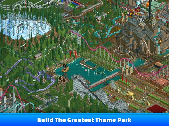 Screenshot #5 for RollerCoaster Tycoon® Classic