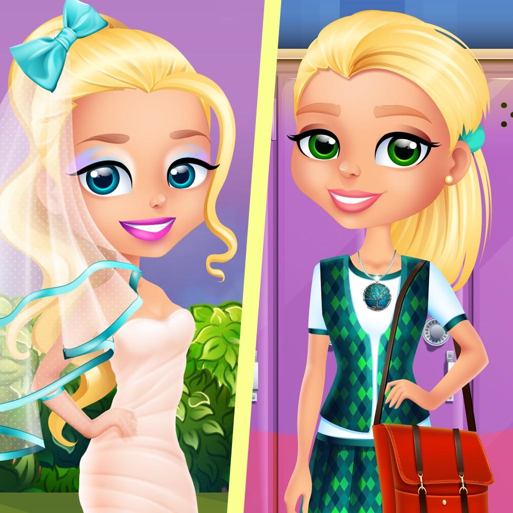 Ava Grows Up - Makeup, Makeover, Dressup Girl Game hack