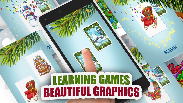 Moona Puzzles Christmas Music, Games for Kids Free screenshot-3