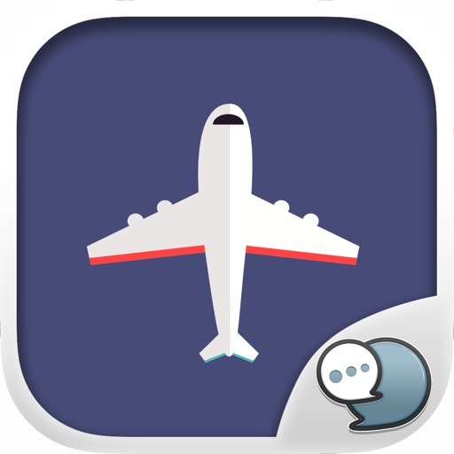 Airport Stickers for iMessage By ChatStick