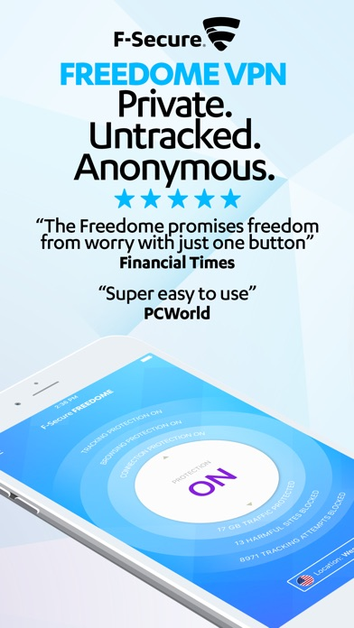 F-Secure Freedome VPN app image