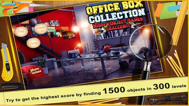 Office box collection on the app store for Bureau of the hidden ones