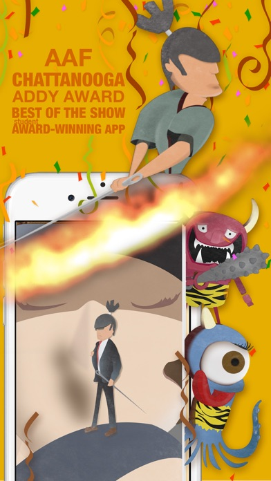 One-Inch Samurai for Kids Screenshots