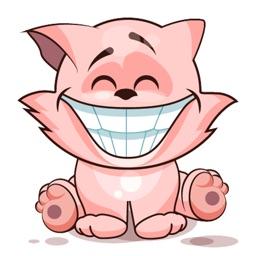Emoji Cartoon Cat Stickers