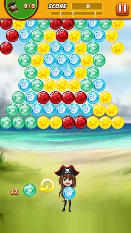 Bubble Shooter Pirate Bubbles screenshot-3