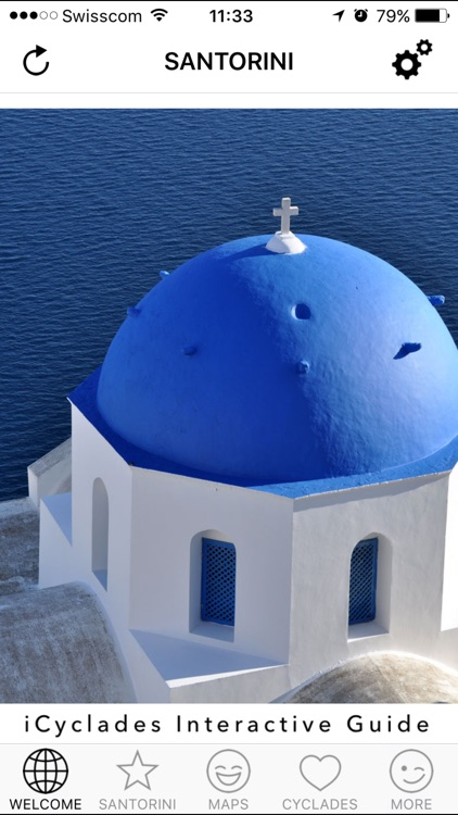 Santorini - The Cyclades in Your Pocket