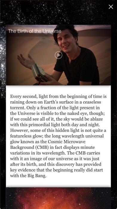 Screenshot for Brian Cox's Wonders of the Universe in Japan App Store
