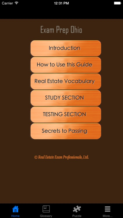 ExamPrepOH - Ohio Real Estate Agent Exam Prep. screenshot-1