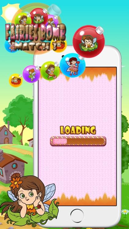 Fairies Bomb Match 3 screenshot-3