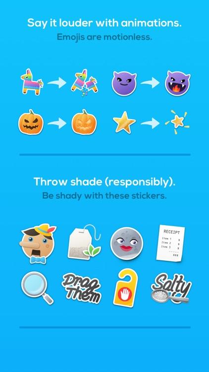 Anitate - 86 Animated Stickers screenshot-4