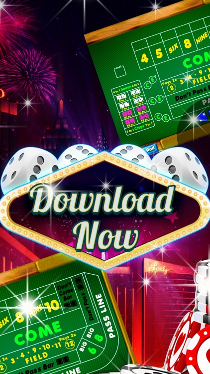 Vegas Champion 3D Free Craps Games