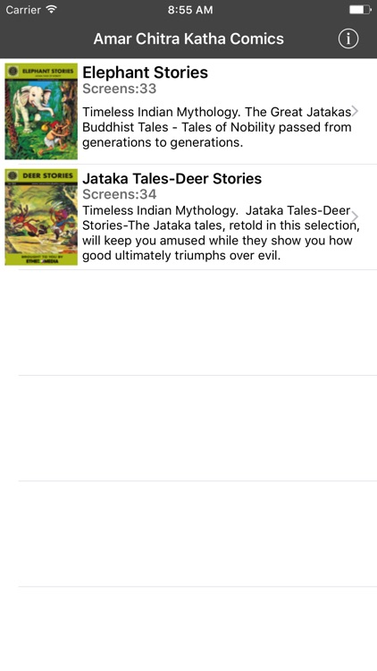 Jataka Tales Double Digest 2- Amar Chitra Katha screenshot-0