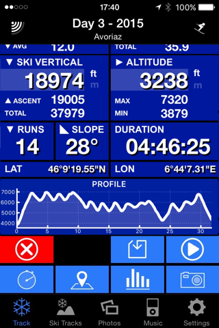 Ski Tracks screenshot 3