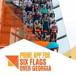 Prime App for Six Flags Over Georgia