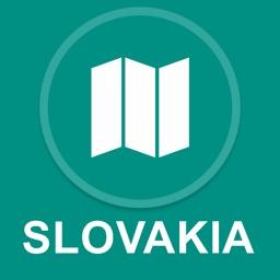 Slovakia : Offline GPS Navigation