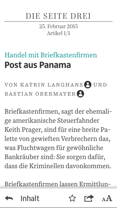 Süddeutsche Zeitung: Zeitungsapp (SZ Plus) app image