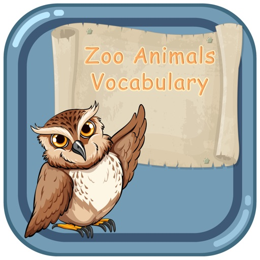 Zoo Animals Vocabulary Game for Kids