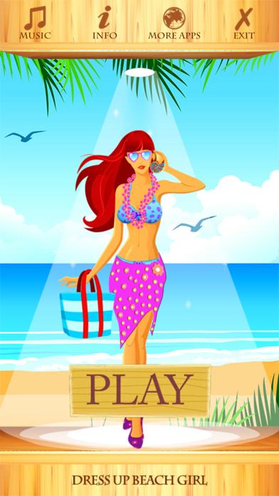 Dress Up Beach Girl screenshot two