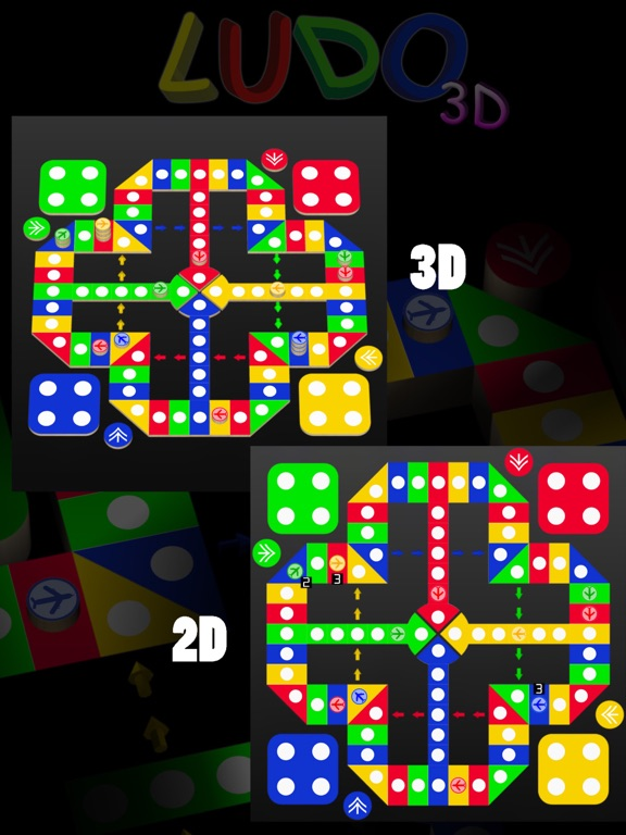 Screenshot #5 pour Ludo 3D : Aeroplane Chess