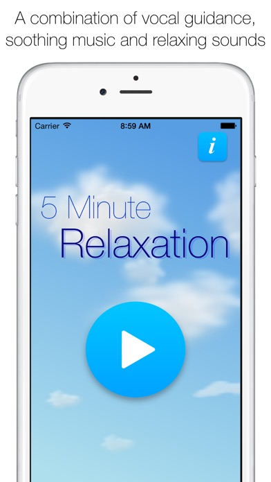 5 Minute Relaxation Screenshot on iOS