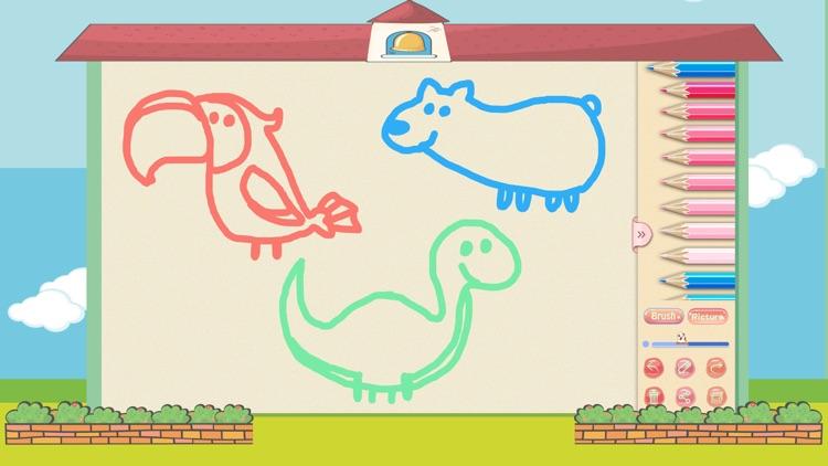 Drawing for color pen, doodle, graffiti screenshot-4