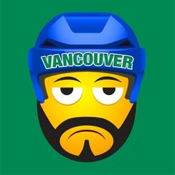 Vancouver Hockey Stickers & Emojis
