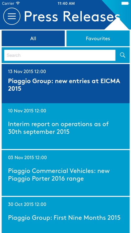 Piaggio Group Corporate App screenshot-3