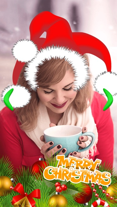 screenshot 8 for merry christmas photo stickers pic editor effects