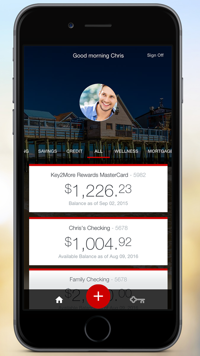 KeyBank Mobile Screenshot