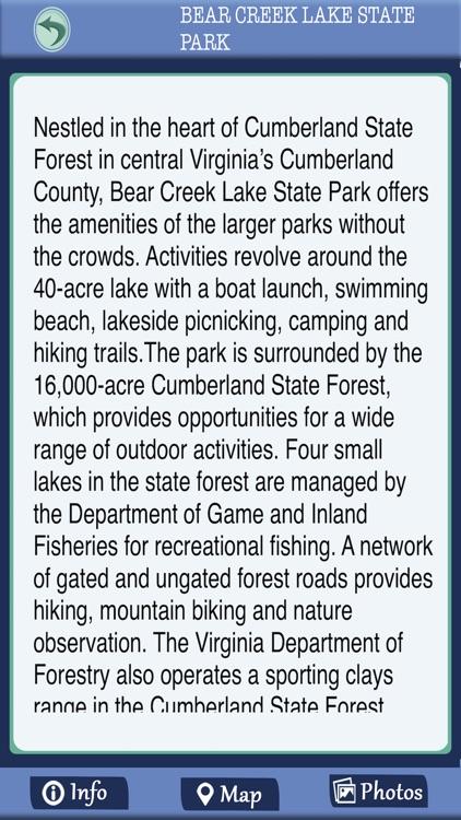 Virginia State Parks Offline Guide screenshot-3