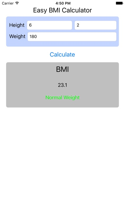 BMI Calculator - Find Your Body Mass Index screenshot-0