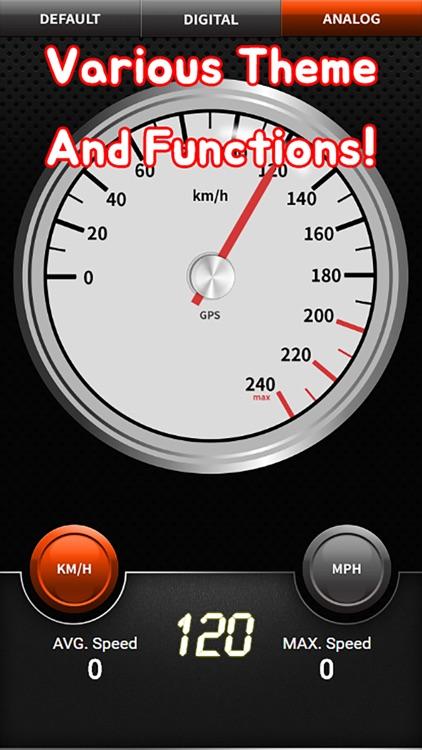 Watch My Speed - GPS Speedometer