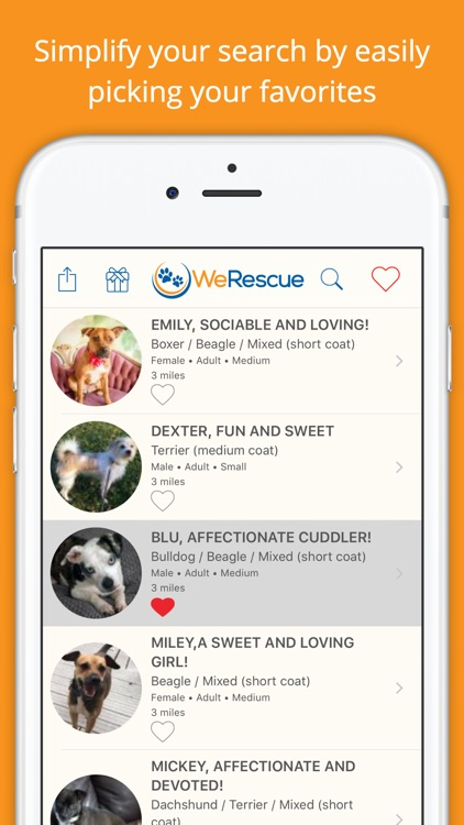 WeRescue – Adopt a Pet