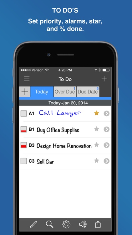 InFocus Pro - All-in-One Organizer screenshot-3