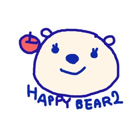 Happy Bear2 Stickers!