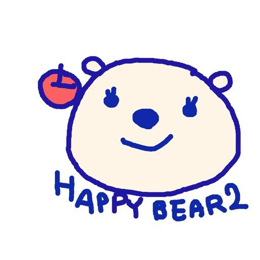 Happy Bear2 Stickers!