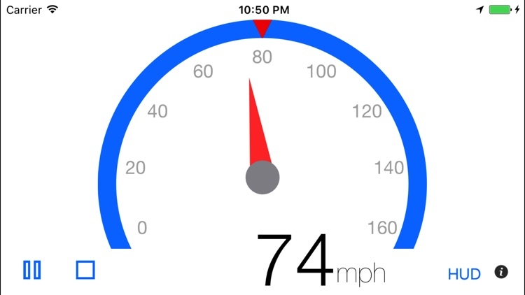 Speedometer - 3pSpeed screenshot-0