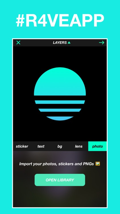 R4VE - A Modern Photo Editor and Camera screenshot-4