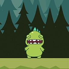 Activities of Pet Dinosaur T-Rex - dinosaur jumping game