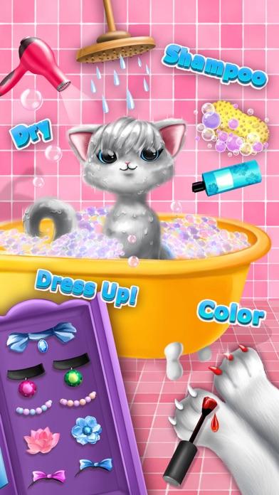 Sweet Baby Girl Cat Shelter – No Ads screenshot 3