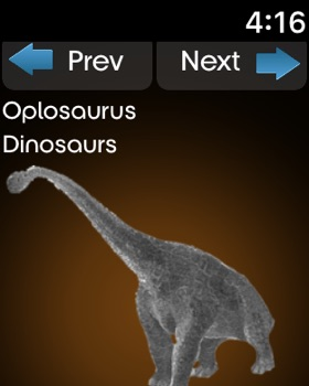 Dynosaurs Encyclopedia screenshot 13