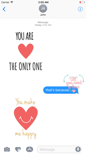 Cute Love Animated Stickers On The App Store